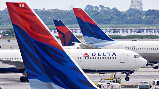 Née de la fusion de Delta et Northwest, c'est la plus Grosse compagnie Aérienne au monde en terme de flotte avec ses filiales régionales. Ici à JFK New York....