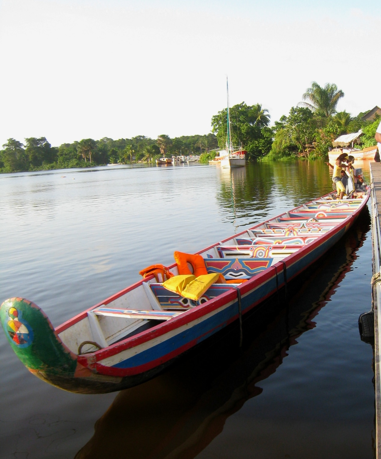 Pirogue de Guyane