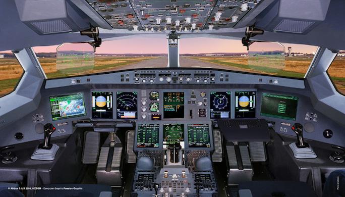 cockpit A330-200