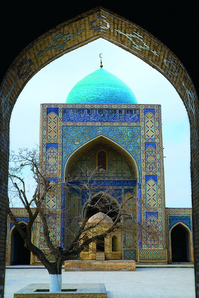 poi kalon mosque boukhara