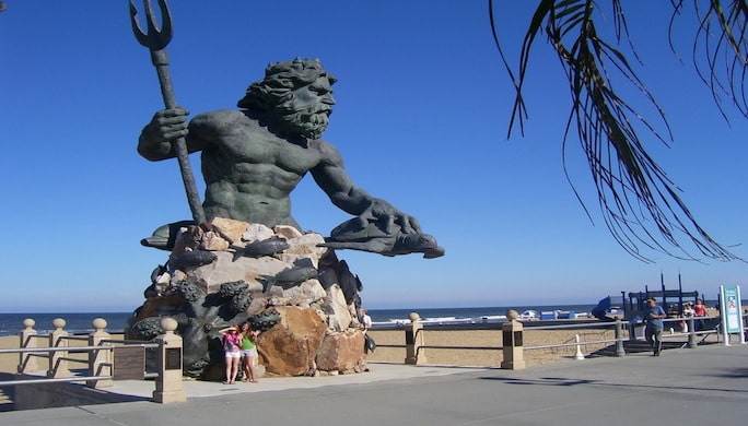 King Neptune Statue Virginia Beach 07