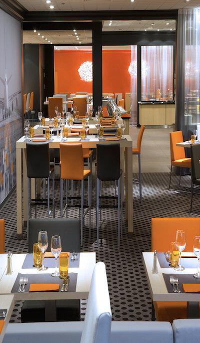 HILTON ORLY Restaurant Le Cafe du Marche 2