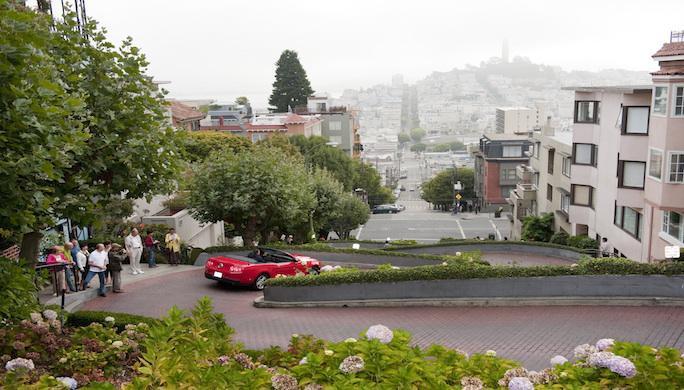 San Francisco Bay Area, San Francisco, Lombard Street
