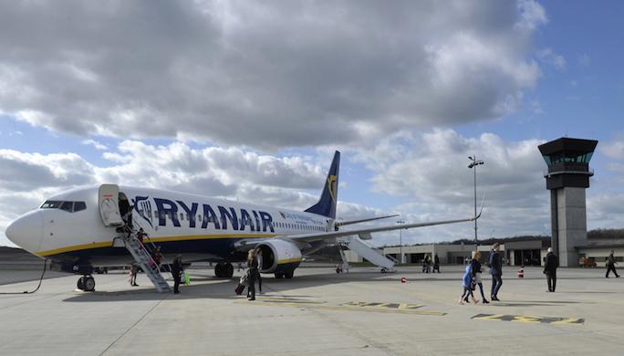 aeroport ligne brive stansted ryanair