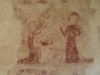 Frèsque de dénonciation datant du XIVe siècle
