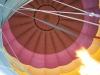 Montgolfière vu d'en bas . Robert Kassous