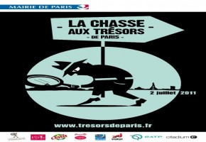 La chasse aux trsors de Paris