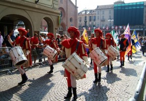 La tradition ancestrale du palio d'Asti