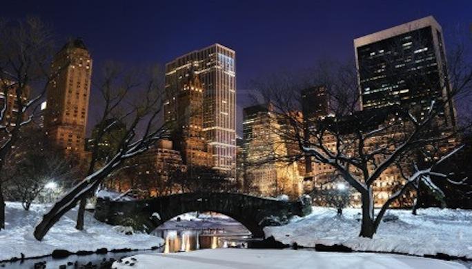 New york en hiver brillance des yeux for Ville a new york