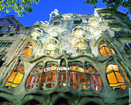 Gaudi Barcelone / INFOTRAVEL.FR