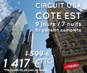 Circuit USA cote Est