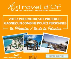Jeu concours - Travel d'Or