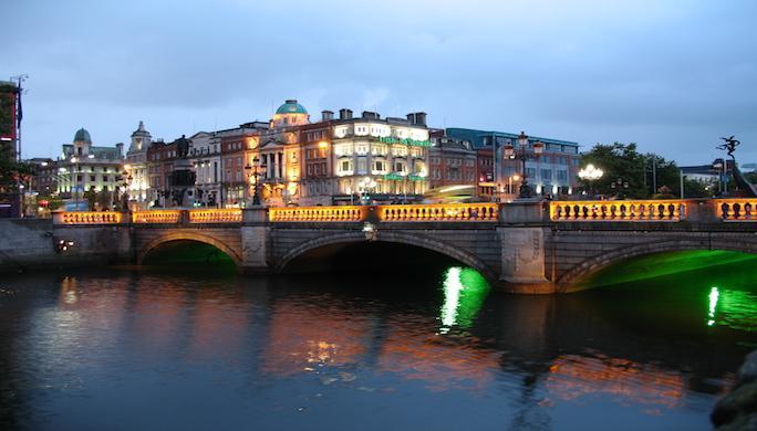 Irlande-Dublin-nuit