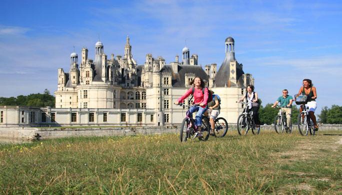 Châteaux de la Loire, oui.... Mais à vélo !