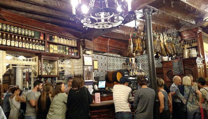 El Rinconcillo la plus ancienne Bodega de seville@Rinconcillo