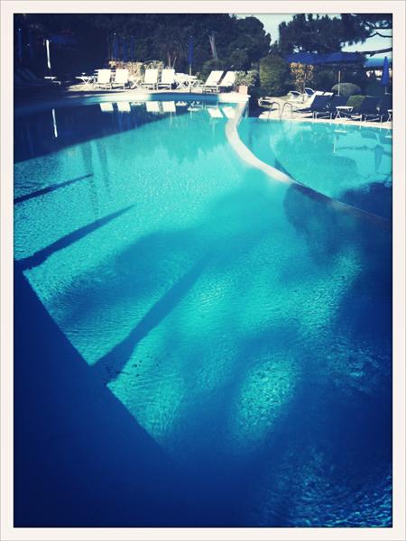 piscine de l'hôtel à capri