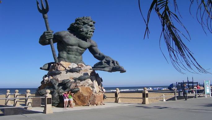 King Neptune Statue Virginia Beach 07