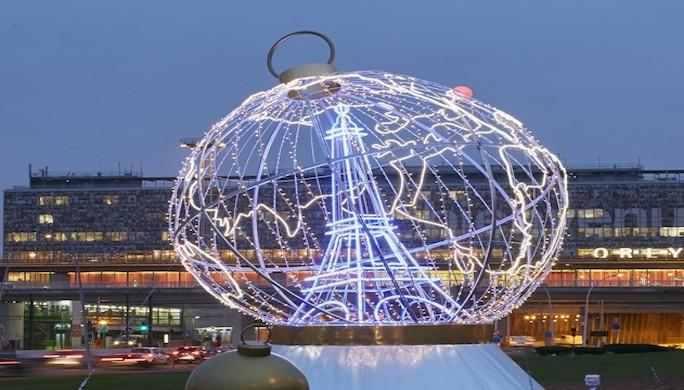 Globe Noël ADP