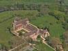 L'Abbaye Royale de l'Epau vue du ciel