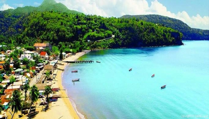 l'île de Sainte-Lucie