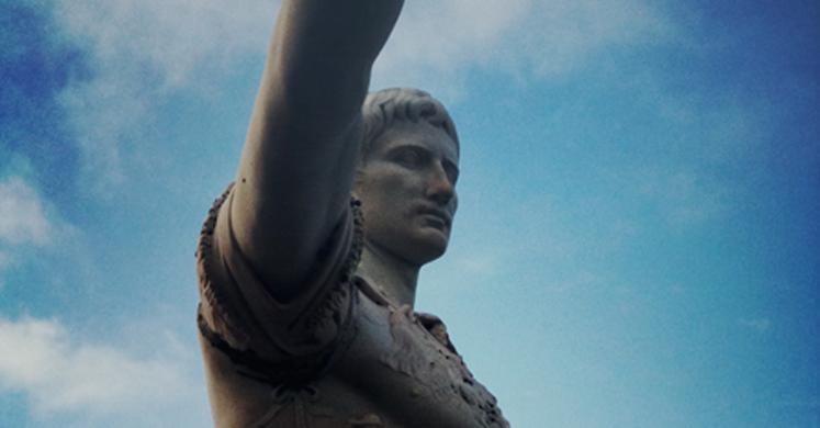 statue de ceasar augustus