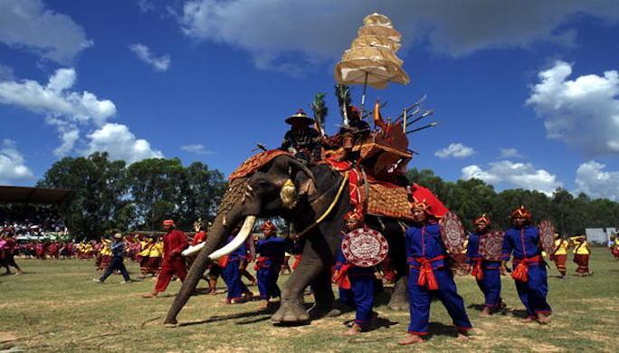 Bénédiction des Elephants