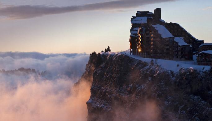 Avoriaz, montagne, France
