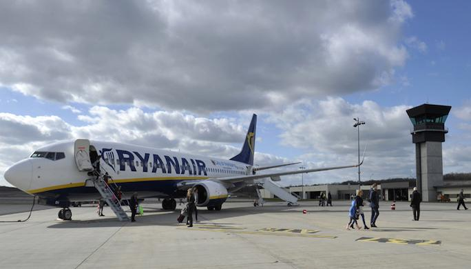 aeroport ligne brive stansted ryanair
