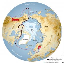 Le Ponant franchit le mythique Passage du Nord Ouest.