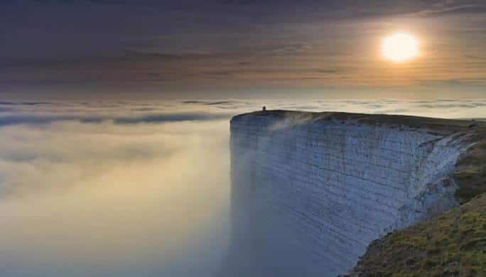 Beachy Head. Angleterre