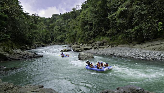 Le Costa Rica en eaux vives