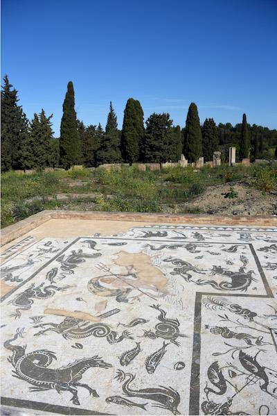 Mosaiques a Italica ∏Stephane Isard