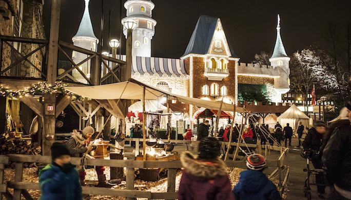 Christmas at Liseberg Amusement Park