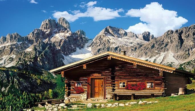 destination la montagne pour cet t avec chalets de c ur. Black Bedroom Furniture Sets. Home Design Ideas