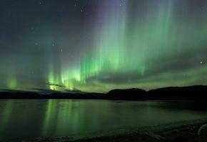 Spectacle luminescent en Norvège