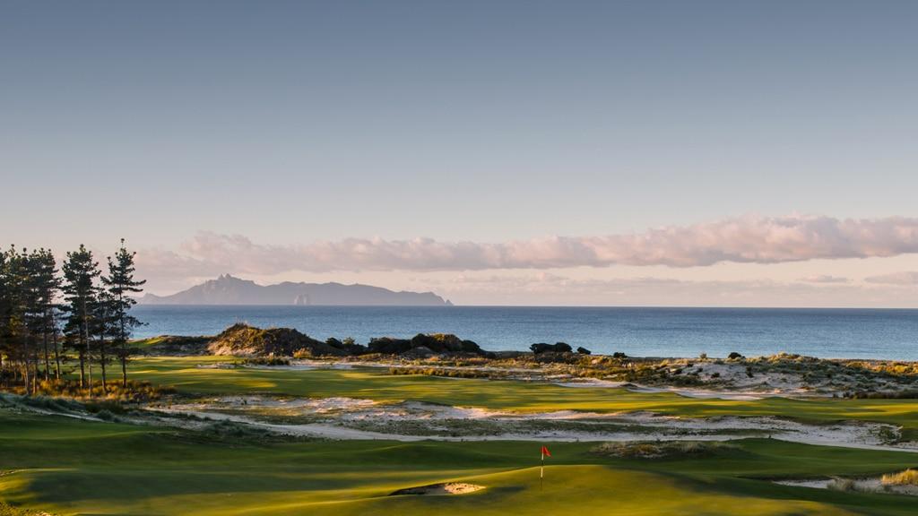 golf de Tara Iti, en Nouvelle-Zélande