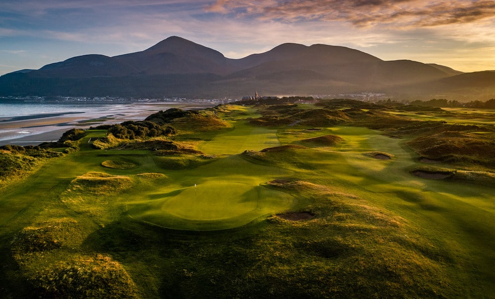 Royal Down Golf Club en Irlande du Nord.