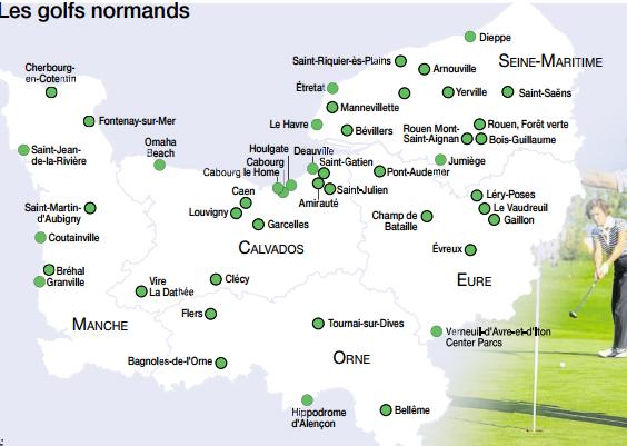 Golf Plein Ouest En Normandie Infotravel Fr