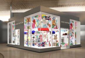 Louis Vuitton ouvre à Paris CDG