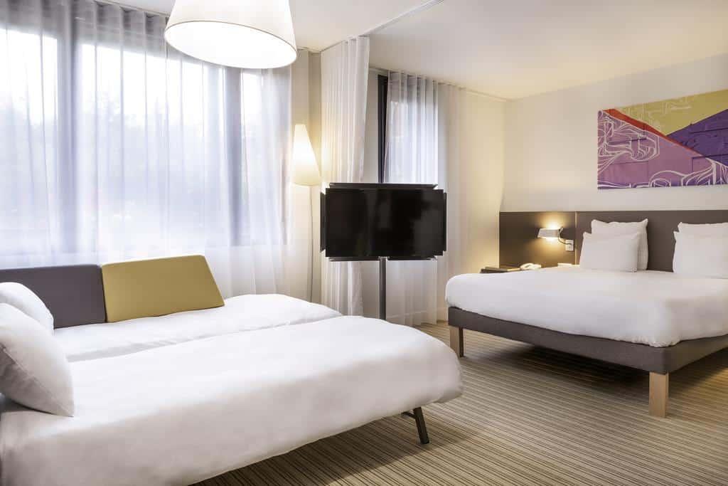 Hôtel, novotel, charles de Gaulle aeroport, voyage