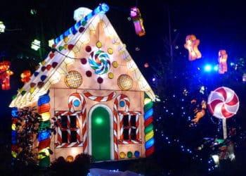 Des étoiles pleins les yeux en Moselle, c'est ça la féerie de Noël en Moselle.