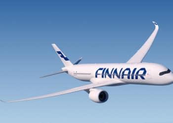 Finnair, vol, avion, Plane