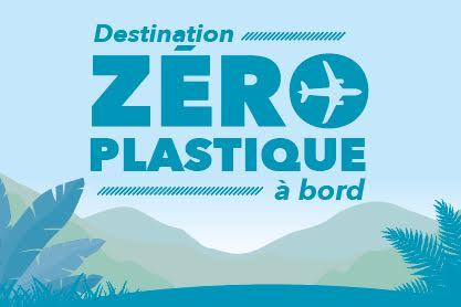 Zero plastique, air austral