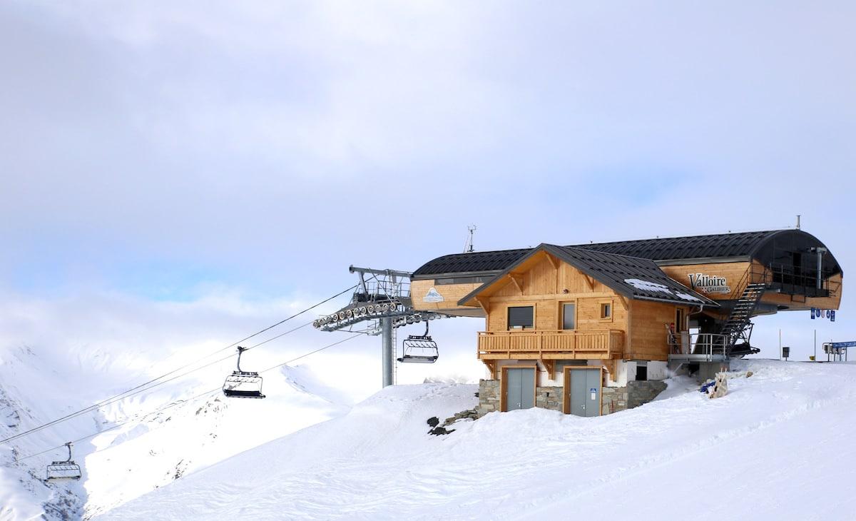 VALLOIRE : Station la plus au sud de la Savoie, France