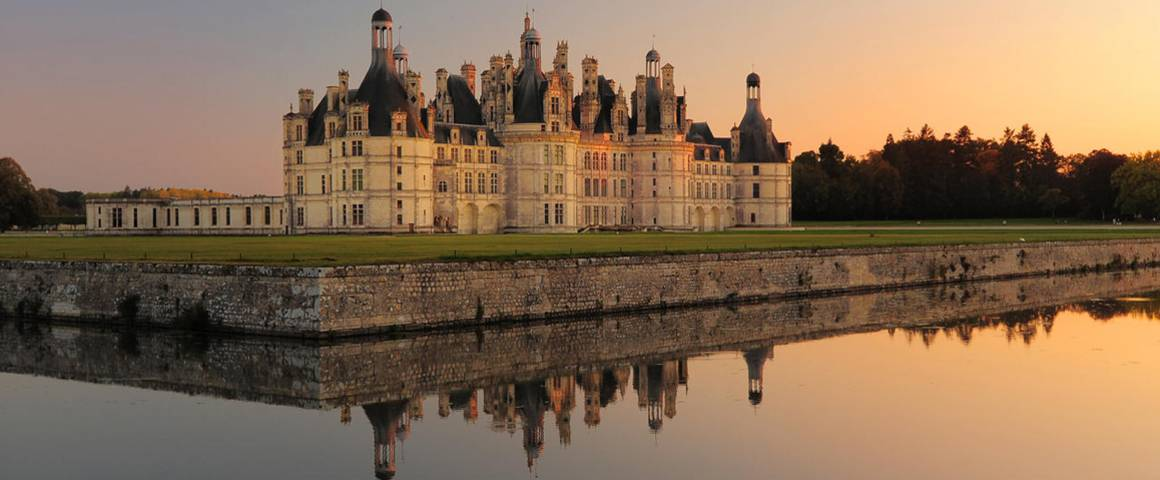 chateau, chambord, France