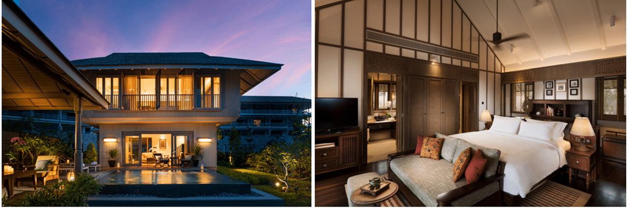 Malaisie, Luxe, Villas