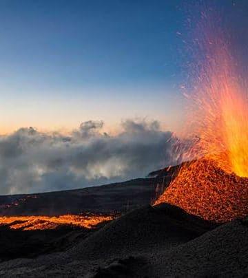 La Réunion intensément volcanique