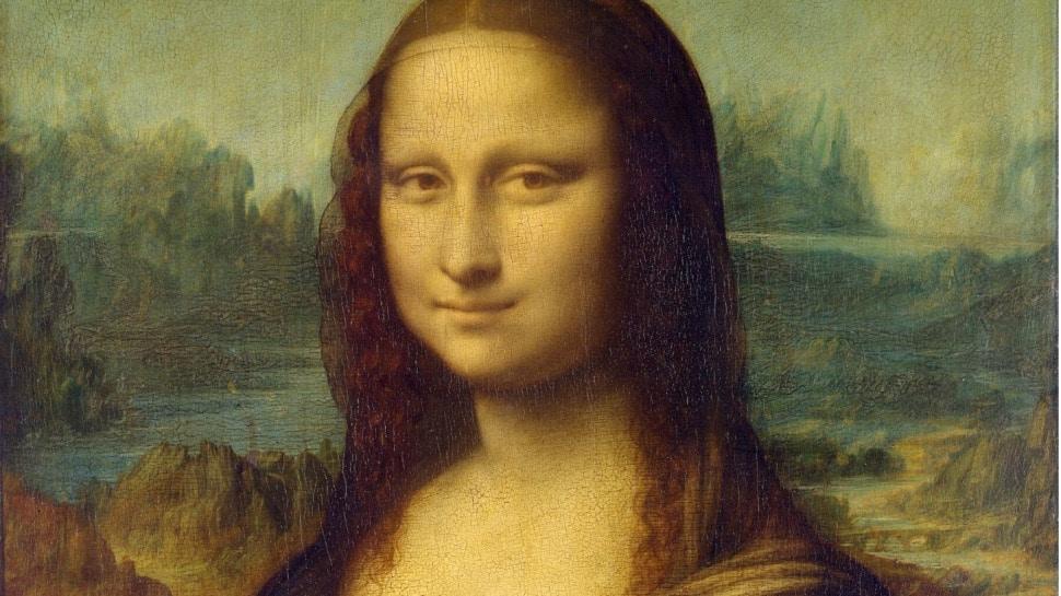 Léonard de Vinci, La Joconde (détail), 1503-1506, huile sur toile, 77 x 53 cm, Louvre, Paris / Léonard de Vinci