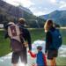 MÉRIBEL (Savoie) :  Le grand air en famille
