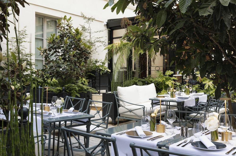 Surréaliste Les Jardins du Faubourg : les plus belles terrasses de l'été DS-49